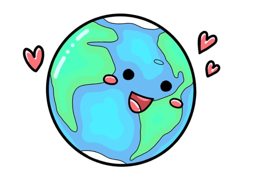Earth Day Coloring Page 01