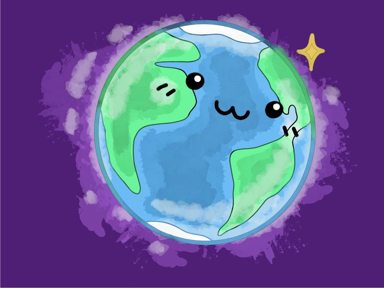Earth Day Coloring Page 03
